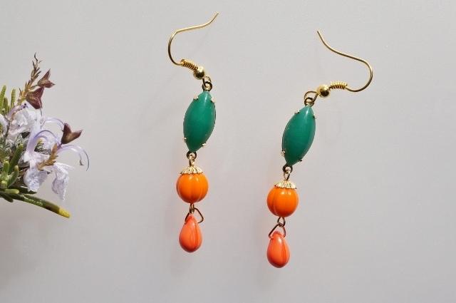green&orange◆Spring*colorful◇ピア...