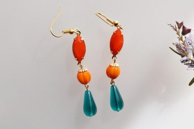 orange&green◇Spring*colorful◇ピア...