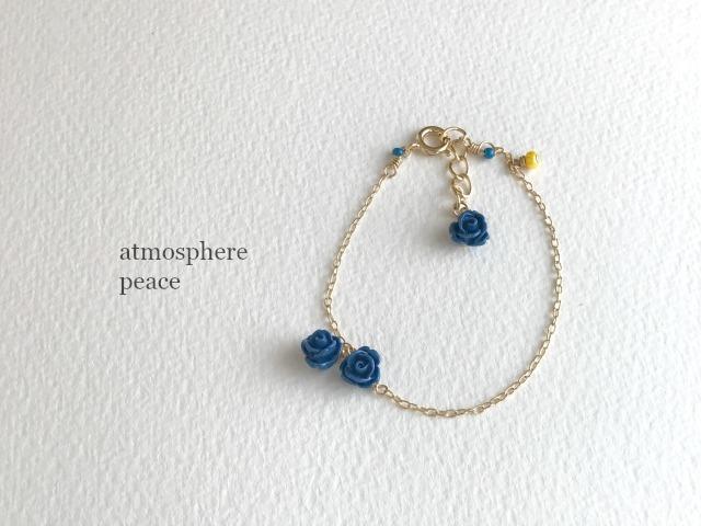 Quartet/blue(ブレスレット)