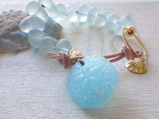 ☆再販☆ Seaglass Bracelet--Sand doller