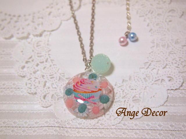 ◆◇可愛い♪カップケーキのネックレス・Sale◇◆