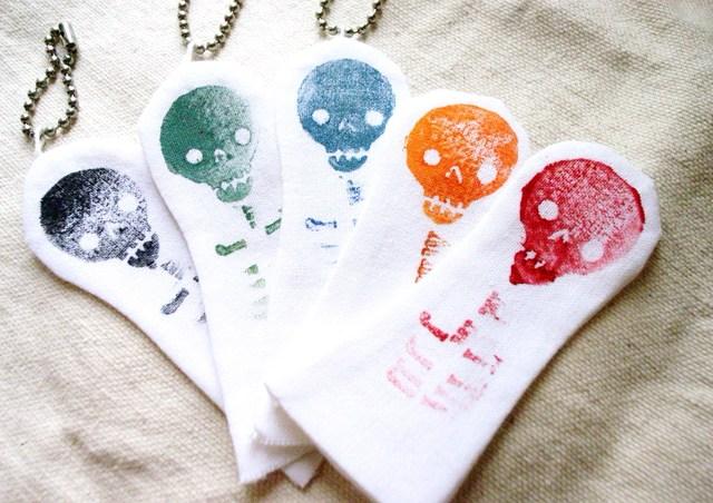 布の指人形(5個セット)