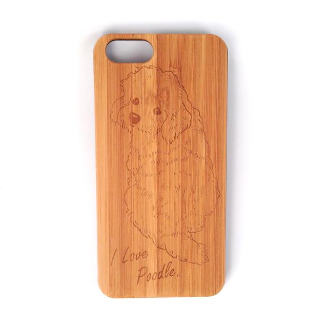 ふりむきプードル iPhone6/6sケース