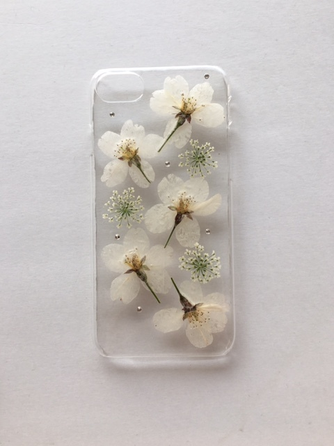 iphone7/6/6S  スワロフスキーとさくら...