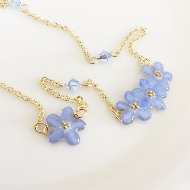 ☆全品SALE中☆babyblue necklace