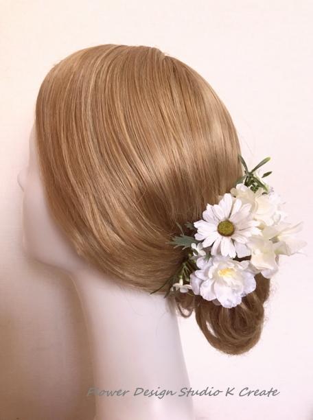 マーガレットと紫陽花のヘッドドレス(U...
