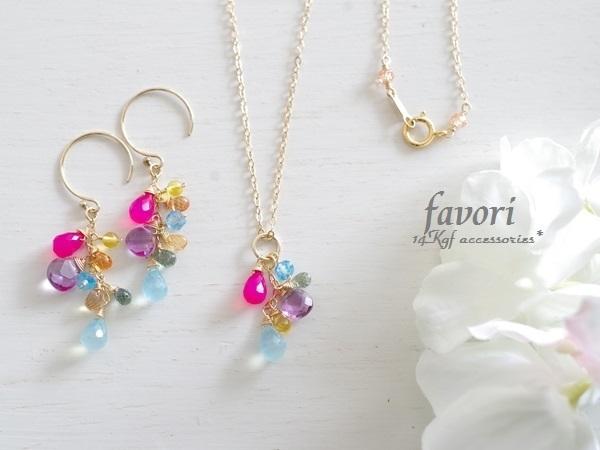 【一点物商品】candy color〜ネックレス...