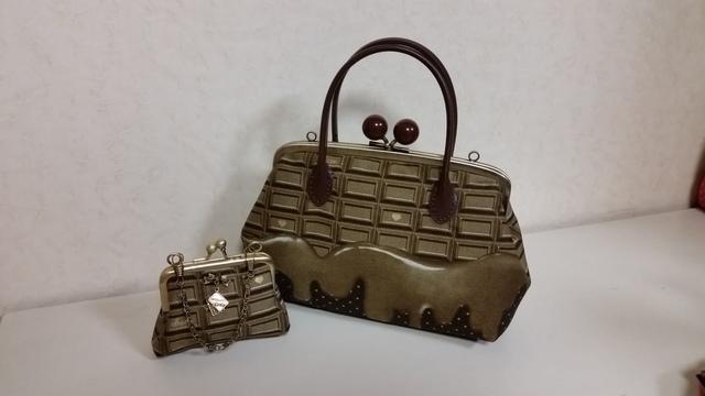 とろけるチョコレート親子バッグ&ミニ...