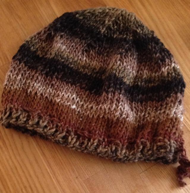 暖たかな帽子
