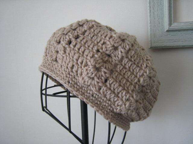 ほっこりニット帽
