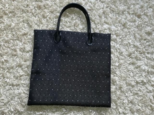 小さなかばん【黒】:116
