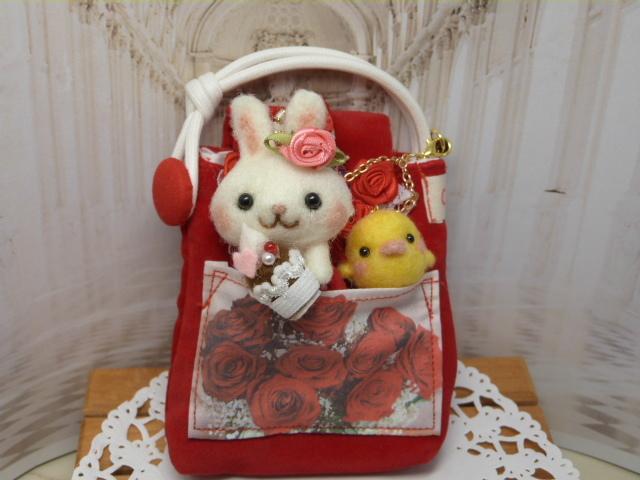 [ s様オーダー品 ] 「ウサギとヒヨコの...