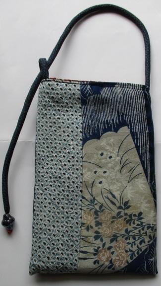 送料無料  絞りと花柄、綿紬で作ったス...