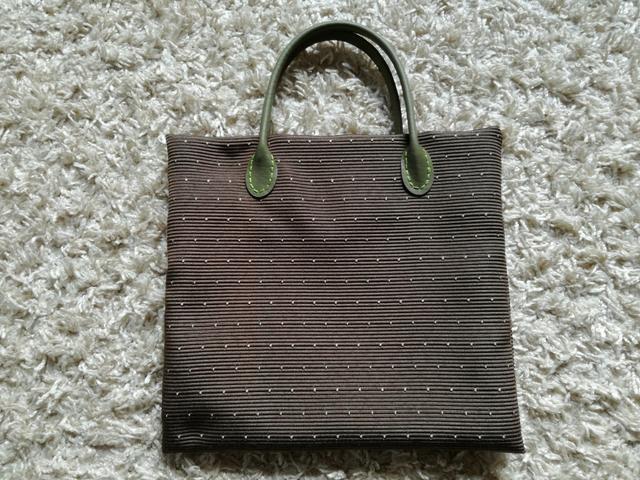 小さなかばん【茶×オリーブ】:117