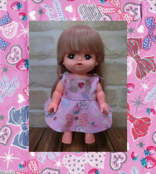 メルちゃん キラリボン(ピンク)