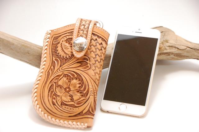 iPhone6 レザーケース  シェリダンカー...