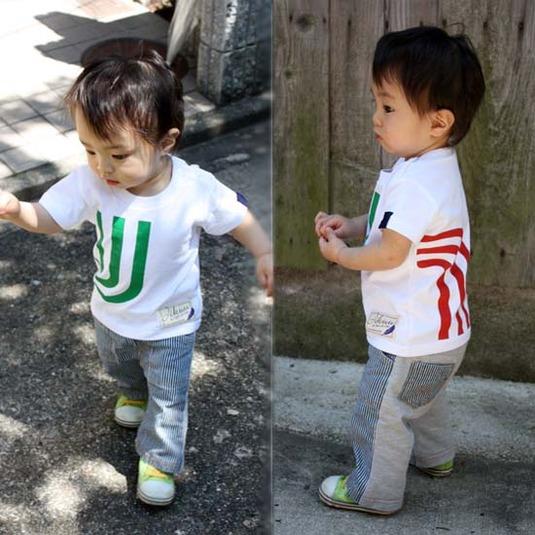 【JIKUU】 キッズ3J-Tシャツ『イタリア』