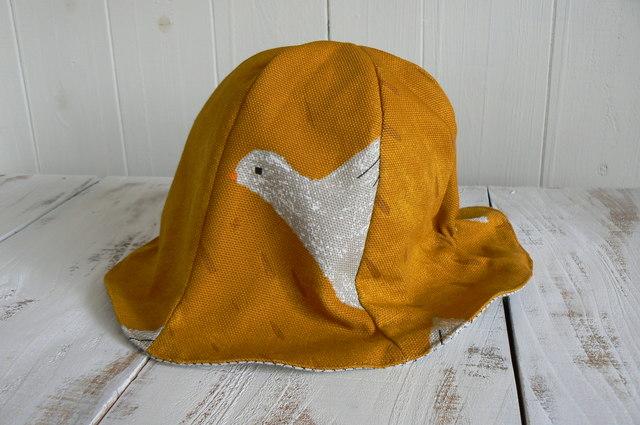 可愛い鳥さん帽子  baby    (約44cm〜46cm) 再販