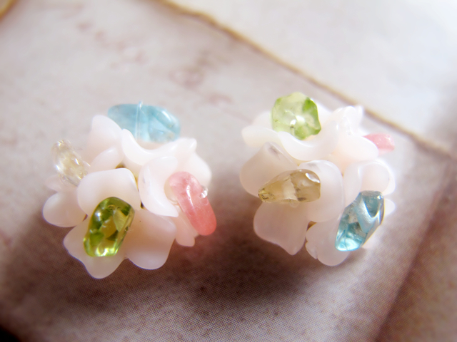 flower seasons ピアスorイヤリング