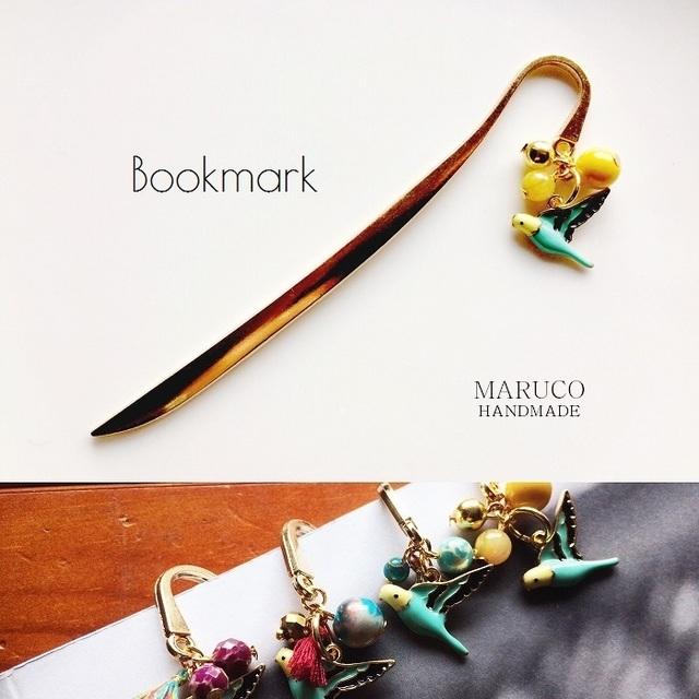 32-52 Bookmarkセキセイインコのしおり*...