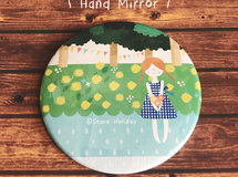 "hand mirror  ""early summer"""