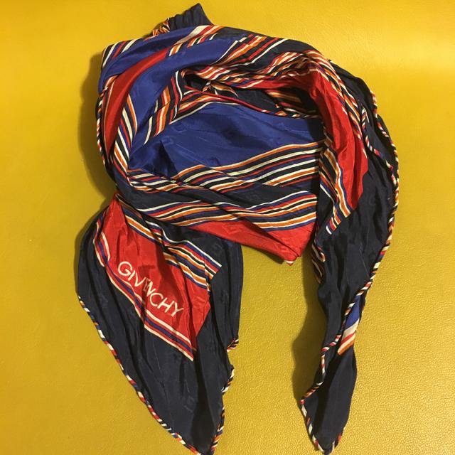 ヴィンテージ ブランド givanchy  スカーフ