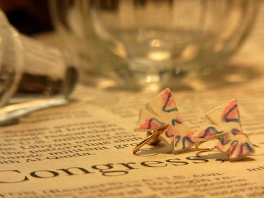 ribbonのイヤリング