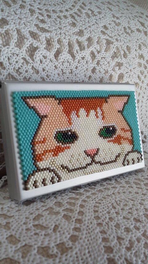 カードケース(ほっこりネコ?)