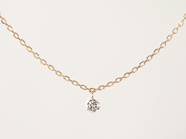 K10 Naked Diamond Necklace