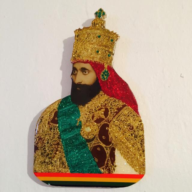 エチオピア 皇帝   ハイレ シラシエ アート