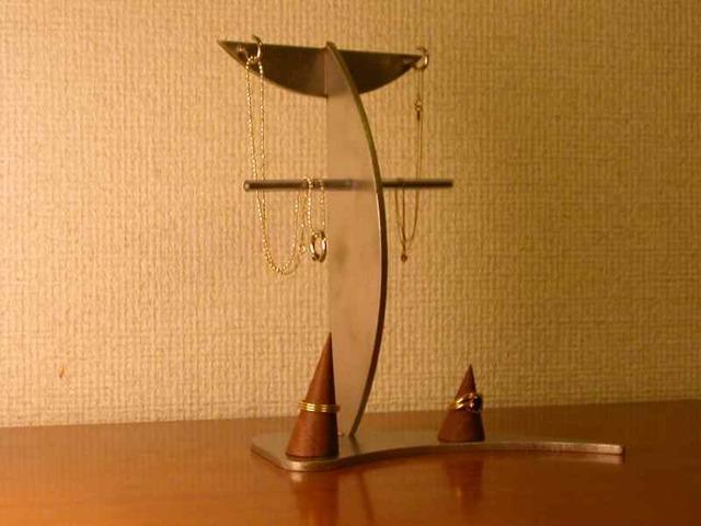 ネックレススタンド 2本掛けネックレス...
