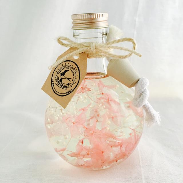 【香る】ハーバリウムランプ〜春めき桜〜