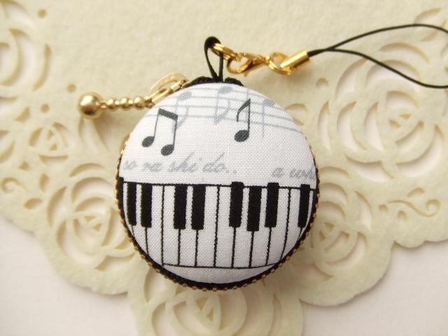 音符&鍵盤/マカロンコインケース(マカ...