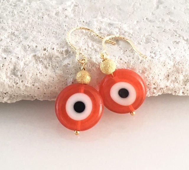 Evil Eye ◆邪眼除け御守り◆オレンジガ...