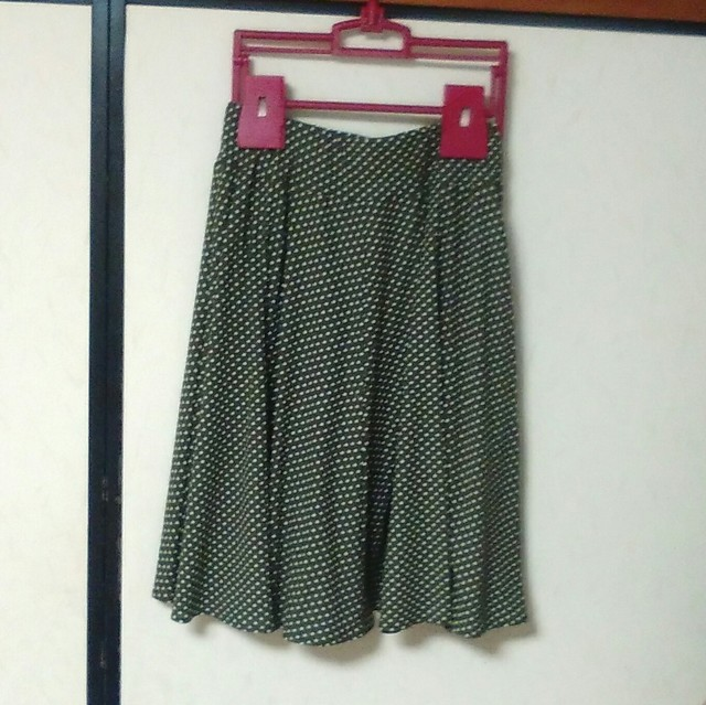 ニット地フレアースカートMサイズ