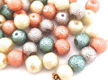 Gelato Pearl☆5color☆Glass beads・50コ