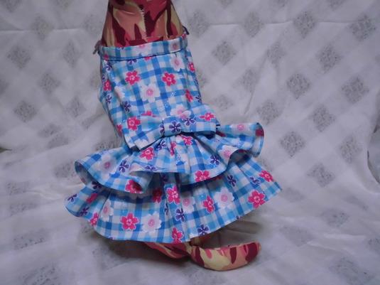 桜もようのリボンドレス