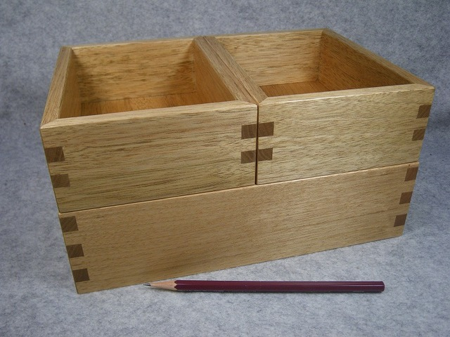 品番1637整理箱3個組クルミ