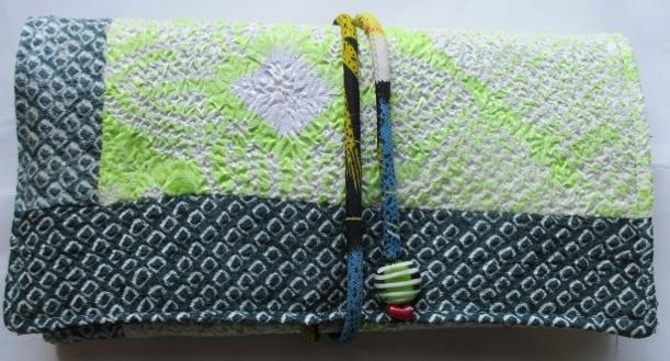 送料無料 帯揚げと絞りの羽織で作った...