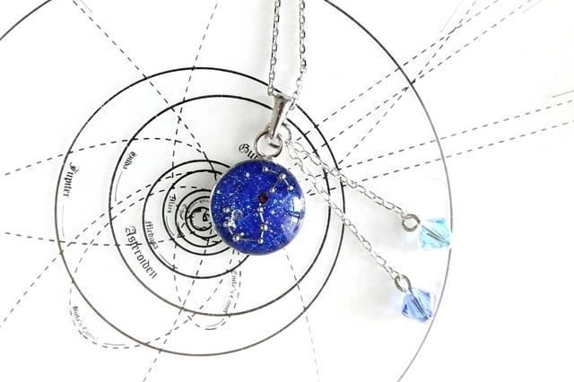 さそり座−星空ペンダント『星鏡』