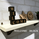 ■□■WELCOME BLOCKセット ひのき