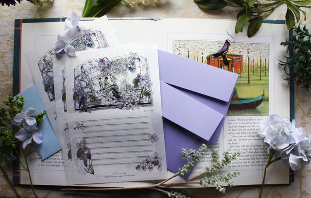 レターセット「朝の手紙」