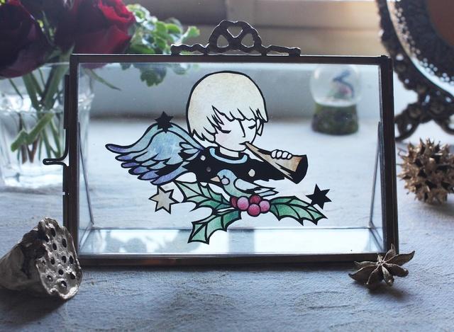 【切り絵キット】天使の切り絵