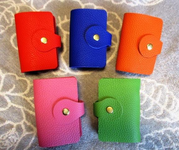 【選べる5色】とっても上質なカードホル...