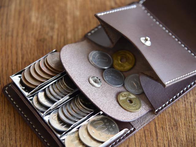 9f8dab4e7bb39c 【送料無料】ブッテーロ 手のひらサイズの小さなコインキャッチャー付き財布 ミニウォレット