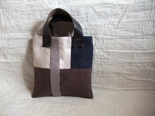 itoiro mini bag (brown gray)
