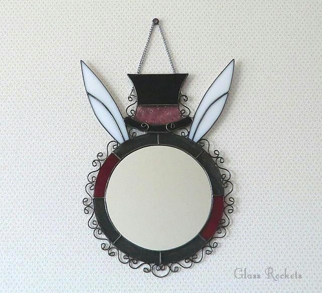 アリス ウサギ  鏡