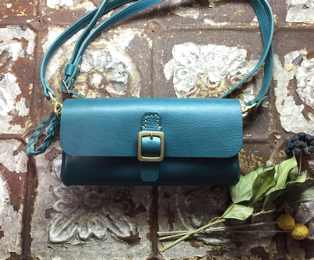 *受注製作*Walletbag (turquoisel) お...
