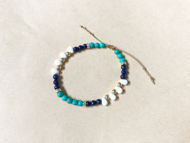 adjustable bracelet ボヘミアン