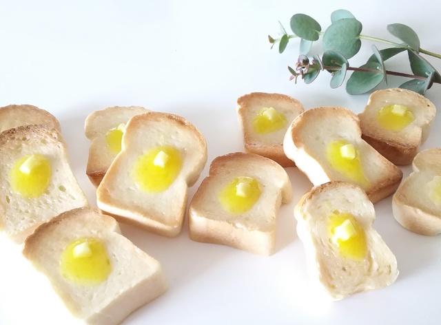バタートースト ブローチorマグネット